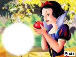 blanche neige et la pomme empoisonné