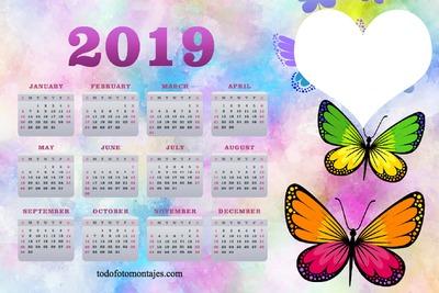 Photosi Calendario.Photo Montage Calendario 2019 Pixiz
