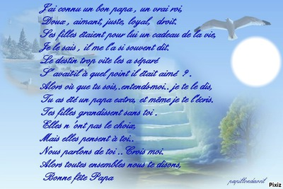 poème papa