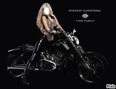 Cadre Harley femme