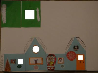 maison de Noel avec Mickey fait par Gino Gibilaro à imp format A4 à découper à coller