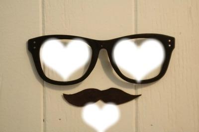 3 coeurs pour une moustache