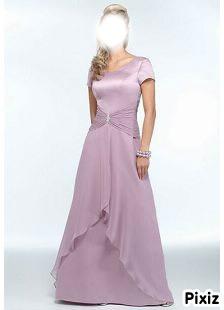 robe de rêve rose