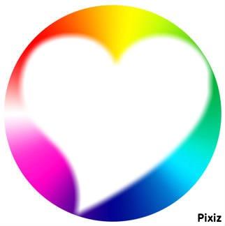 Meme dans un cercle il y a ton coeur que j'aime
