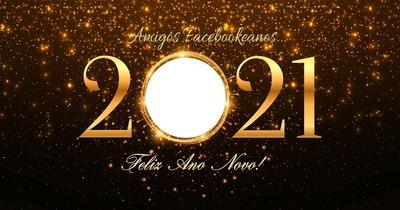 2021 - Feliz Ano Novo Facebookeanos