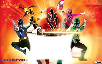 Montaje Fotografico Power Rangers Pixiz