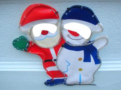 Père Noël et bonhomme de neige