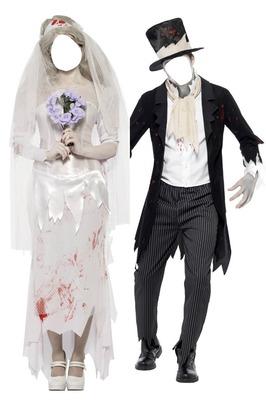 mariés zombies
