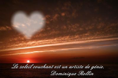 Photo Montage Coucher De Soleil Citation Pixiz