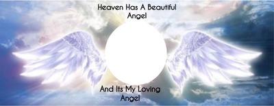 heaven has a beautiful angel