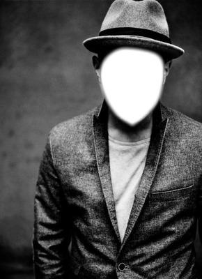 Mann ohne Gesicht