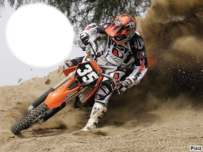 Montage photo ktm moto cross pixiz - Moto crosse ktm ...