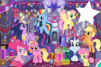 MLP Luster Dawn and 6 mane