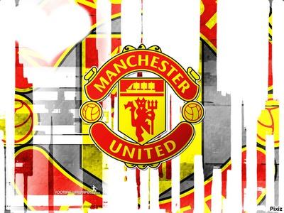 Photo montage manchester united flag pixiz manchester united flag voltagebd Images