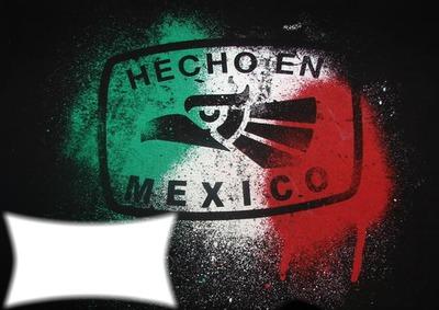 Photo Montage Hecho En Mexico Pixiz