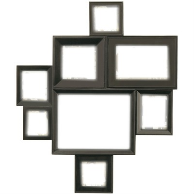montage photo cadre multiple pixiz. Black Bedroom Furniture Sets. Home Design Ideas
