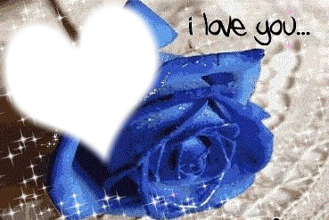 фотомонтаж Una Rosa Blu Pixiz