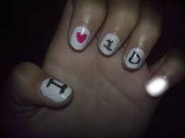 Uñas de 1D-One Direction
