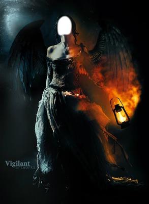 Image Ange Et Demon photo montage femme ange et demon - pixiz