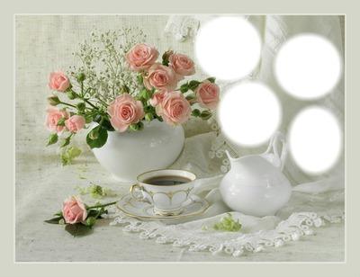 kolaż kawa