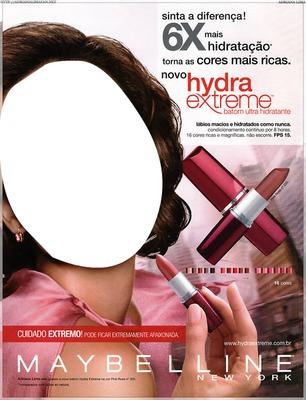 Maybelline Hydra Extreme Lipstick Advertising