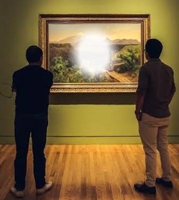 Cc marco en galeria