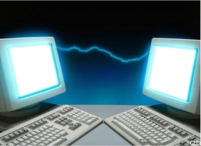 message sur le net