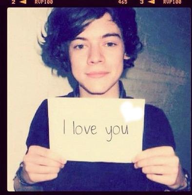 harry  : love you too!!