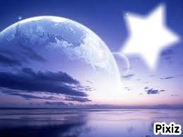 étoile dans le ciel