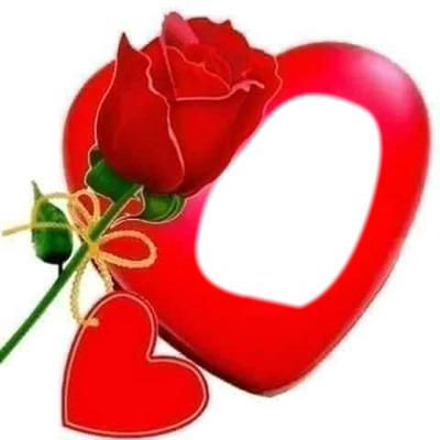 Cc Rosa de corazón