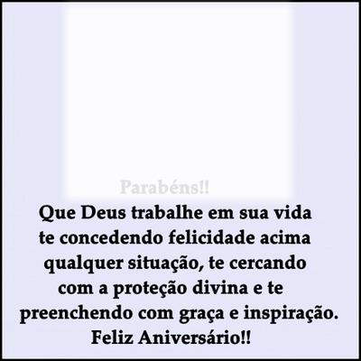 """Parabéns Feliz Aniversário!! By""""Meria Ribeiro"""""""