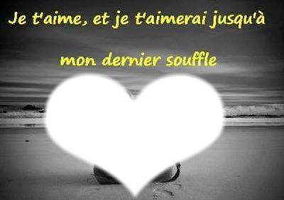 Compartir la letra 'Je t'aimais, je t'aime, je t'aimerai'