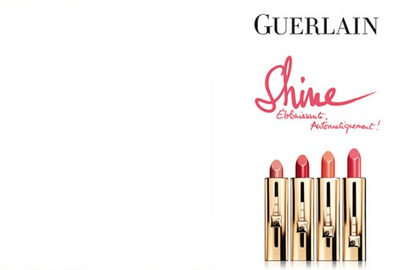Guerlain New Lipstick Advertising