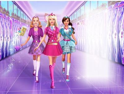 barbie escola de princesa
