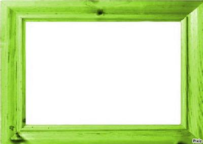 montage photo cadre vert anis pixiz. Black Bedroom Furniture Sets. Home Design Ideas