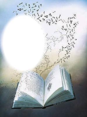 Livre ouvert-mots-lettres
