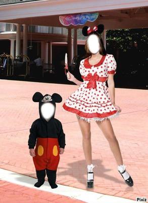 petit mickey & sa princesse