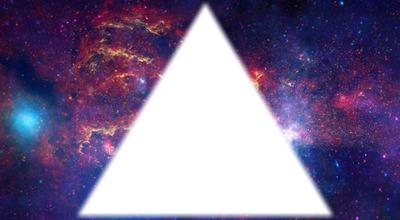 Fond galaxy triangle swag