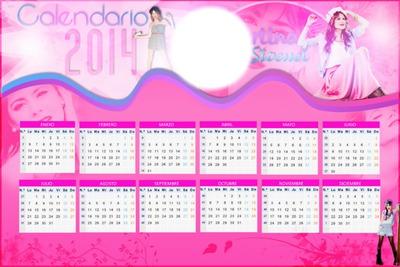 Calendario de Tini 2014