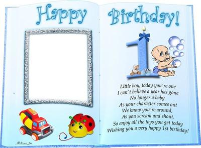 Happy Birthday Little Boy