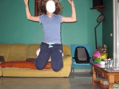fille qui saute