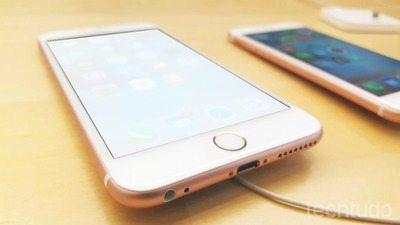 Iphone 7 sua foto nele