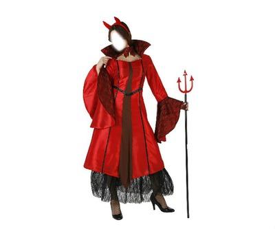déguisement halloween rouge