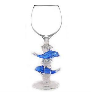 dolphin wine glass 1