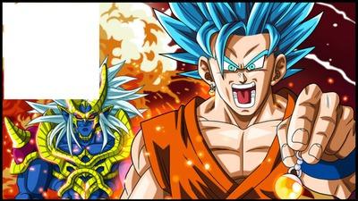 DBZ super guerriers bleu