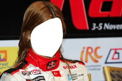 Girl Rally Driver