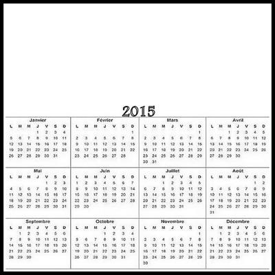 calendrier 2015 2 photos