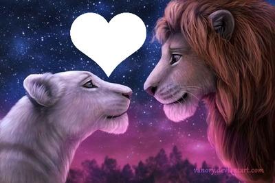 lion king Nala and Simba