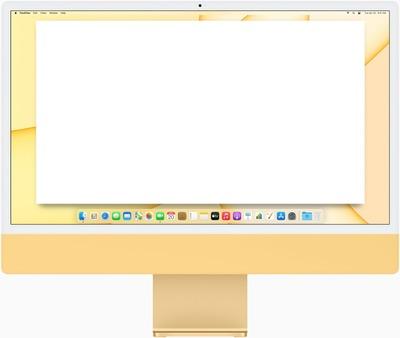 iMac M1 (bureau)