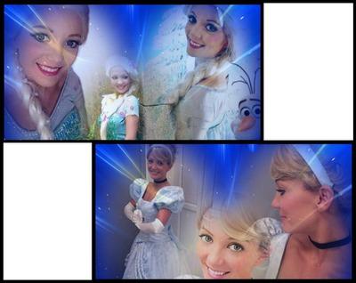 Cendrillon & Elsa